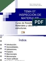 Inspeccion de Materiales - Soldadura