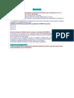 BROffice - Exercícios