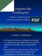 As origens das civilizações