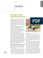 State Support for Bike and Pedestrian Infrastructure