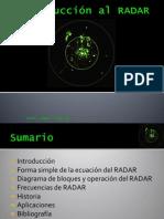 Introducción al RADAR (Presentación)