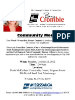 Community Meeting Poster Oct22