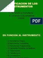 3 CLASIFICACIÓN DE INSTRUMENTOS