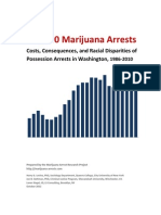 240.000 Marijuana Arrests in Washington