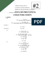 Lab2 Resp de Frecuencia Colector Comun