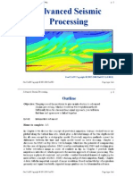 Advanced Seismic Processing