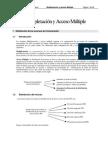 Multiplexacion y Acceso Multiple