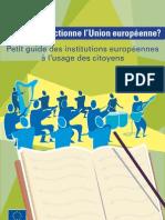 Comment fonctionne l'Union européenne