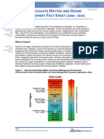 Particulate Matter and Ozone Management Fact Sheet (2008-2010)