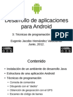 Desarrollo de apps Android 3