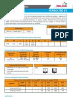 Ficha Tecnica Ferrocito 24