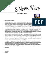 October 2012 News Wave