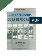 TANAKA Martín - Los espejismos de la democracia