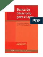 TRIVELLI Carolina, VENERO Hildegari - Banca de desarrollo para el agro (experiencias en curso en América Latina)