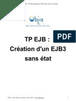 TP Ejb Objis Creation Ejb3 Stateless