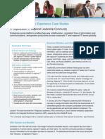 IT Regional Leadership Community Case Study