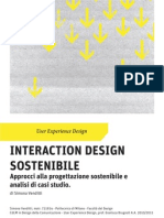 Interaction Design Sostenibile