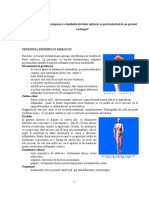Program Kinetic de Recuperare a Tendinitei de Fesier Mijlociu Cu Particularitati La Un Pacient Cardiopat.