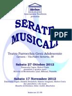 SERATE MUSICALI IN PARROCCHIA