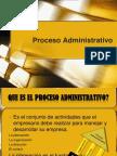 El Proceso Administrativo Jvr