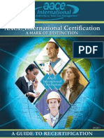 Guide to Recertification