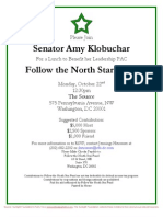 Lunch with Sen. Amy Klobuchar for Follow the North Star Fund