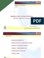 energia eólica portugal