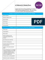Adult.cochlear implant referral guidelines, Auckland New zealand