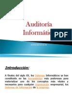 Introducción a La Auditoria Informática