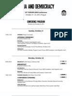 Forum 2000 Conference Program 22-10-2012 2