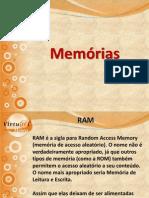Aula 8 - Memórias