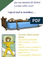 Você sabia que sua maneira de dormir revela coisas sobre você?