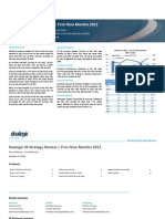 Dealogic IB Strategy Review - First Nine Months 2012 - FINAL