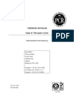 User Manual - Hybaid - Omn E - UK Omn-E Thermal Cycler