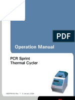 User Manual - Hybaid - SPRINT Thermal Cycler - HBSP