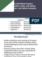 Teknik Identifikasi Di Lingkungan Kerja (Survey Jalan 2003