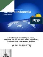 Sejarah Dan Perkembangan Periklanan Indonesia