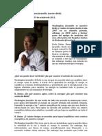 Entrevista a Washington Jaramillo, Maestro Reiki Riobamba