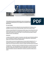 Congreso Merida 2011 Contencioso Administrativo