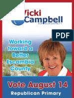 Vicki Campbell Palm Card
