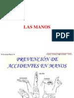PREVENCIÓN DE ACCIDENTES EN MANOS Seminario Dosatec
