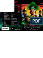 Age of Empires II Conqueror's Edition Manual