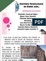 Deformacion de Rocas