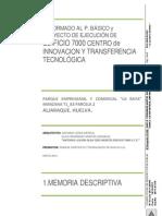 0-1 Memoria Descriptiva f f Visado