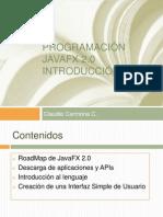 Clase 01 - Programacion Javafx 2