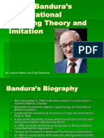 Bandura Imitation