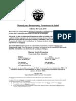 Manual Para Promotores