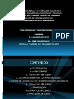 FORMACIÓN Y COMPOSICIÓN DEL SUELO