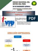 Direccion y Liderazgo en La Empresa Exp