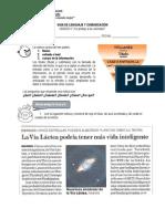 GUIA DE LENGUAJE Y COMUNICACIÓN, la noticia